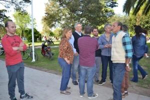 Día de la familia en la Plaza Belgrano.