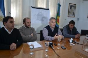 Barrientos anunció obras para mejorado de calles de Chacabuco.