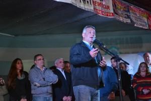 Barrientos en la Fiesta del Fomentista.
