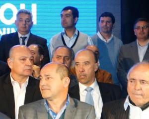 Barrientos en el cierre de campaña de Julián Domínguez.