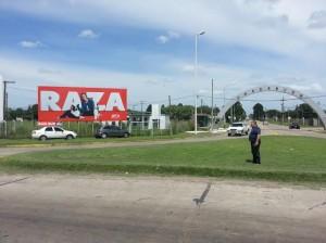 Barrientos en dónde podría estar el puesto de Policía de Seguridad Vial.