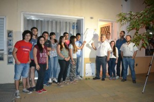 Inauguraron la Casa de Estudiantes de Chacabuco en Junín.
