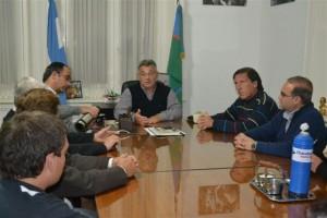 El Intendente reunido con Concejales del Bloque PJ-FPV.