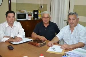Barrientos se reunió con el Consejo Escolar.