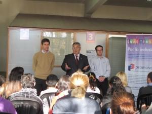 Juan Pablo Errasti, Mauricio Barrientos y Mariano Deldivedro.