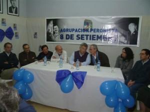 El ex Intendente Francolino apoya la candidatura de Barrientos.