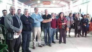 Se inauguró el Galpón de las Cooperativas.