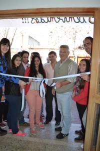 Se inauguró la casa de estudiantes en Chivilcoy.