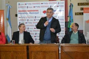Mauricio Barrientos en la Jornada sobre Atención Primaria de la Salud.
