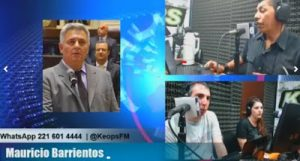 """Diputado Barrientos aseguró que a Randazzo le llegó el """"momento de jugar políticamente"""""""