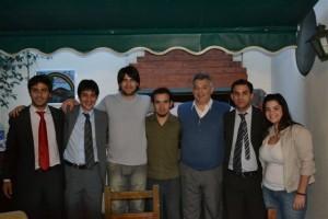 Barrientos viajó a La Plata y a Buenos Aires.