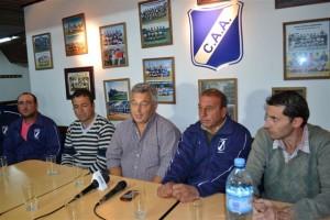 Barrientos en el Club Argentino de Chacabuco.