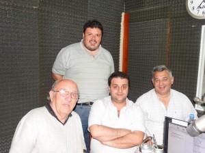 Barrientos en Radio Chacabuco.