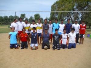 Torneo amistoso de Beach Voley en Chacabuco.