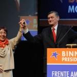 Hermes Binner y Norma Morandini.