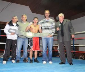 Festival de box en O´Higgins.