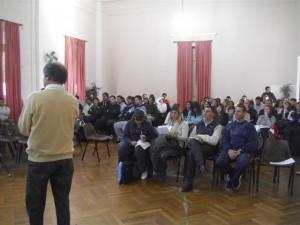 Capacitación docente en Chacabuco.