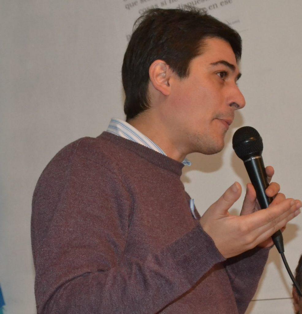 Concejal de Unidad Ciudadana, Martín Carnaghi