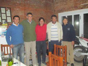 Ceballos, Correa, Carnaghi; Cáceres y Daluisio.