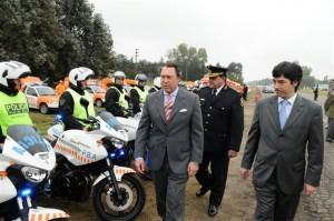 El Ministro Casal presentó el Servicio de Prevención.