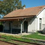 Imagen de la estación de ferrocarril de Castilla.
