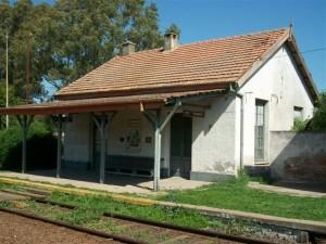Estación del ferrocarril Castilla.