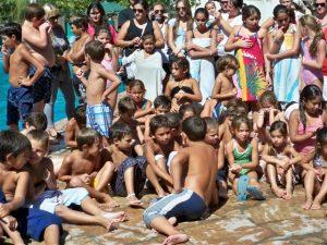 Imagen perteneciente al cierre de Colonia de Vacaciones 2012