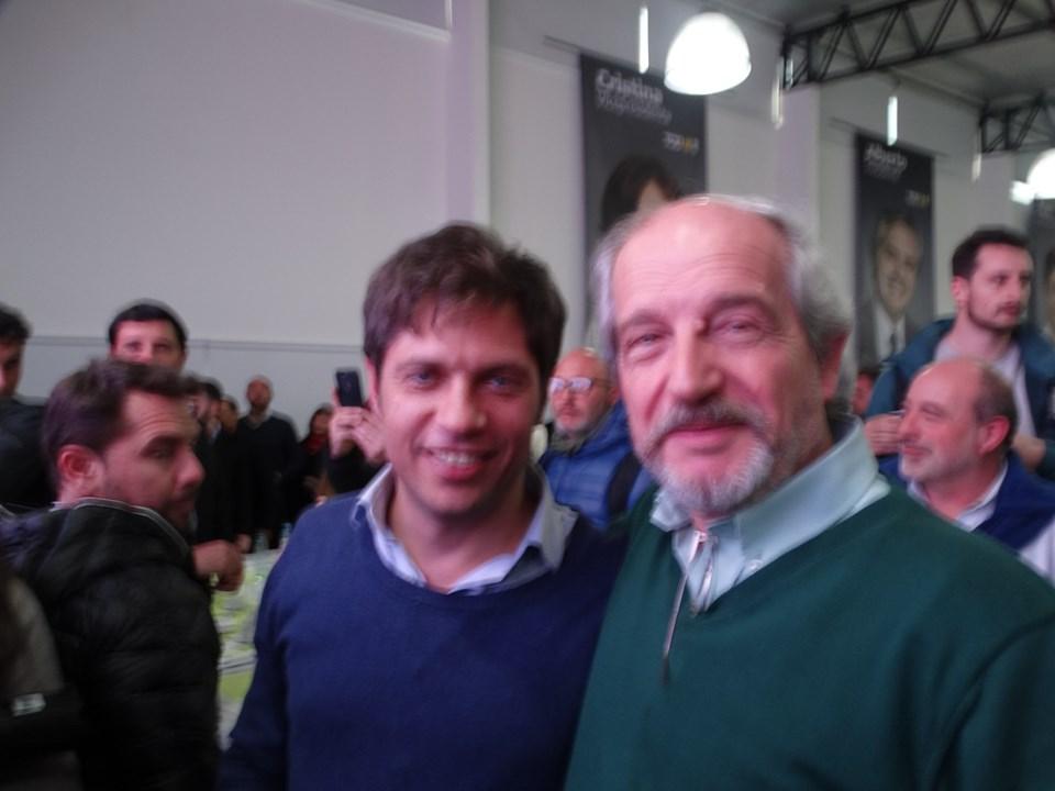 Kicillof y Ciminelli.