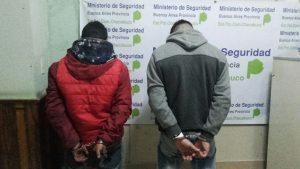 Los detenidos ésta tarde en Chacabuco.