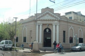 Comisaría de Gral. Rodríguez. Foto: Santiago Tombion.