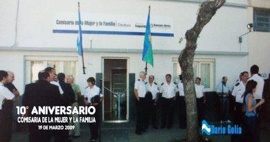 Comisaría de la Mujer y la Familia de Chacabuco en su 10° Aniversario.