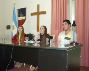 Concejo Deliberante Juvenil.