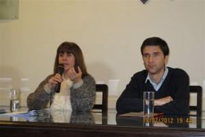 Licia Lapolla y Juan Pablo Errasti.