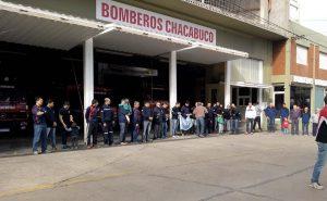 Solidaridad con los Bomberos Voluntarios