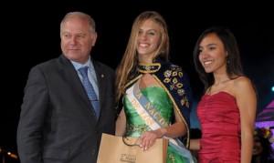 Carla Romanini, nueva Reina Nacional de los Estudiantes.