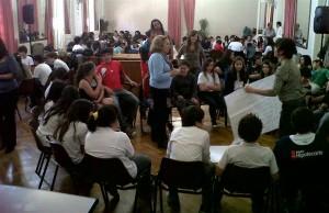 Más de 200 adolescentes asistieron a un Taller sobre Diversidad Sexual y Embarazo en Chacabuco.