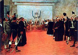 Congreso de Tucumán 1816.