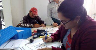 se realizaron exámenes médicos a los empleados municipales del Corralón