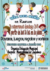 """En Rawson se festejará """"El Día del Niño"""""""