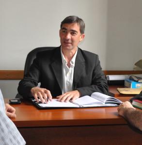 Senador Provincial Gustavo de Pietro (UCR).