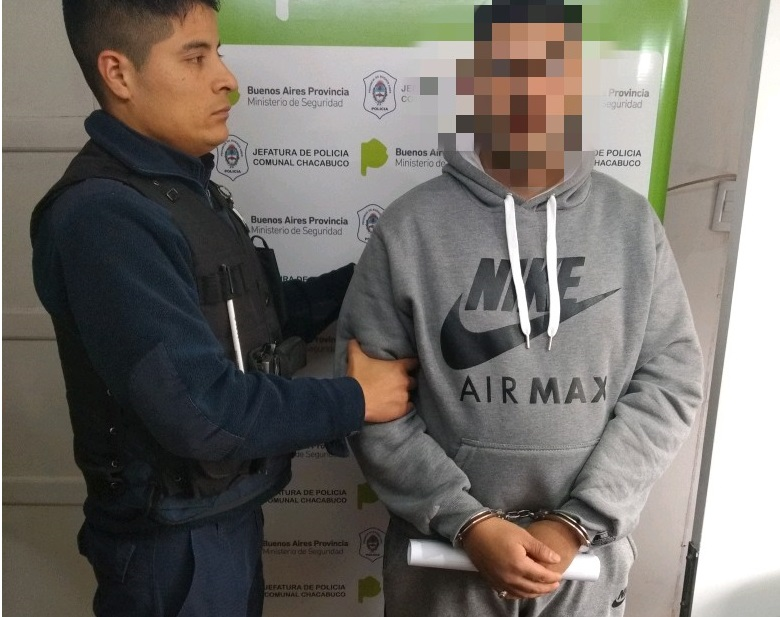 El detenido por robo