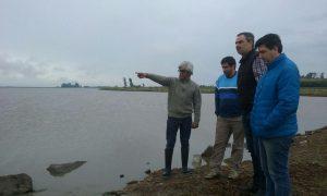 Laguna de Rocha: evalúan las condiciones del predio