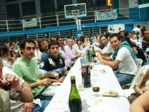 Trabajadores Municipales de Rawson en la Fiesta del año 2011 realizada en Porteño.