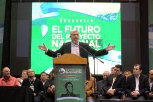 En Santiago del Estero, junto a Gerardo Zamora, la gobernadora Ledesma, 32 diputados nacionales y dirigentes y militantes del Norte Grande.