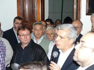 Barrientos y Domínguez en Junín.
