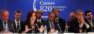 En la cumbre presidencial del G20.
