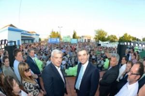 Domínguez y Randazzo en Chacabuco.