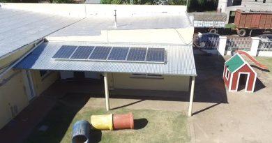 Paneles solares en O´Higgins