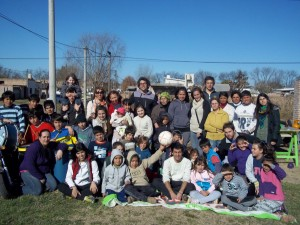 Programa Envión el en Barrio San Benito.