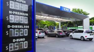 Aumentaron nuevamente los combustibles.